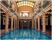 Gellert Bath - in-door swimming pool